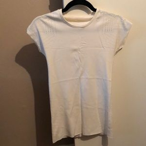 Lululemon Cream Shirt